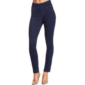 NEW BOSTON PROPER Nora skinny pull-on jeans 6